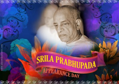 Srila Prabhupada Appearance Day August 16
